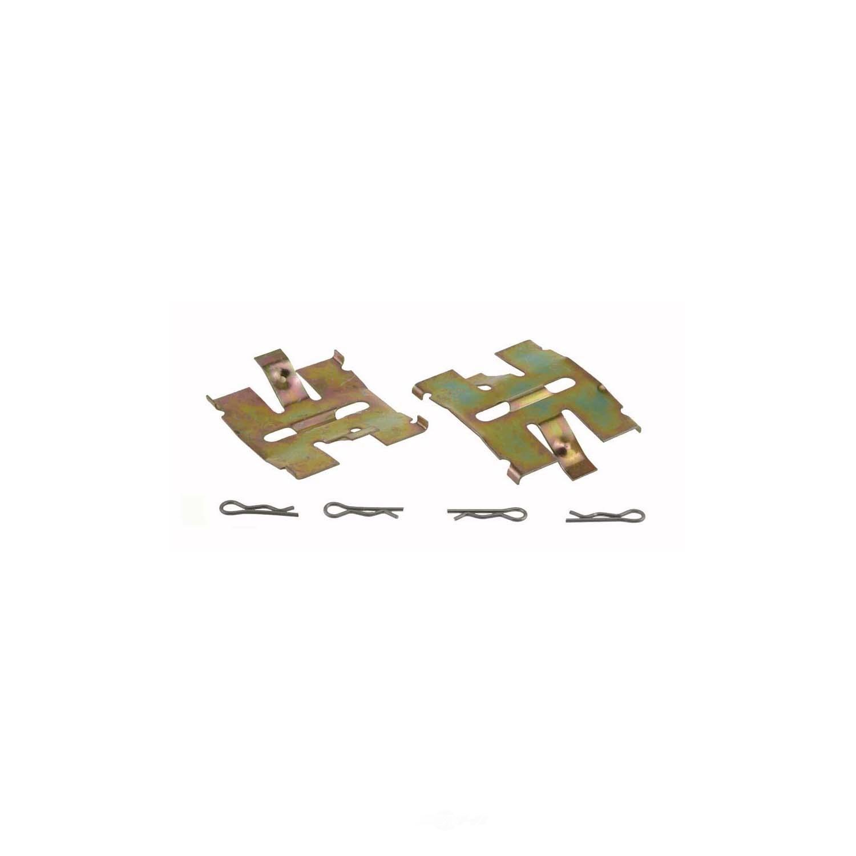 CARLSON QUALITY BRAKE PARTS - Disc Brake Hardware Kit (Rear) - CRL 13074