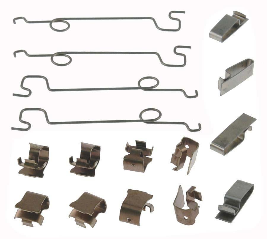 CARLSON QUALITY BRAKE PARTS - Disc Brake Hardware Kit (Front) - CRL 13139