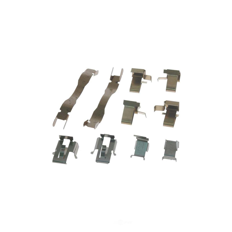 CARLSON QUALITY BRAKE PARTS - Disc Brake Hardware Kit (Front) - CRL 13151