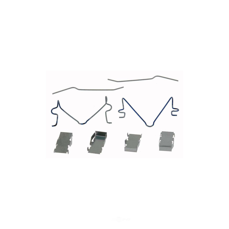 CARLSON QUALITY BRAKE PARTS - Disc Brake Hardware Kit (Front) - CRL 13169