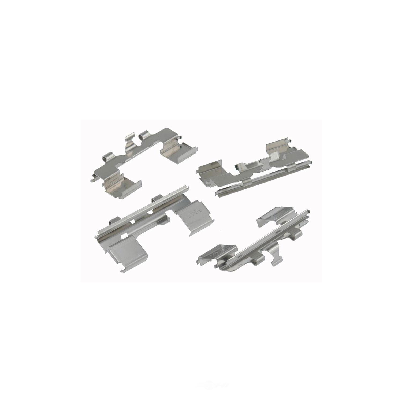 CARLSON QUALITY BRAKE PARTS - Disc Brake Hardware Kit (Front) - CRL 13173