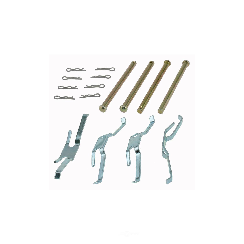 CARLSON QUALITY BRAKE PARTS - Disc Brake Hardware Kit (Front) - CRL 13175
