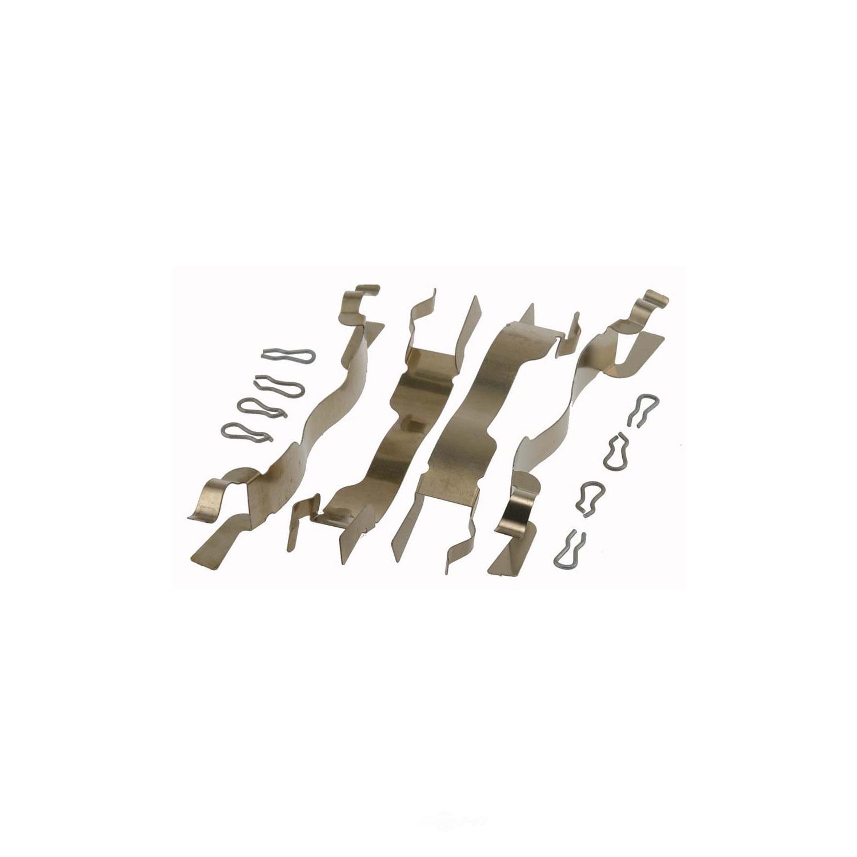 CARLSON QUALITY BRAKE PARTS - Disc Brake Hardware Kit (Front) - CRL 13187