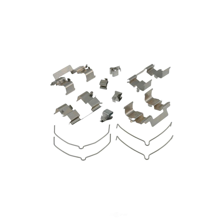 CARLSON QUALITY BRAKE PARTS - Disc Brake Hardware Kit (Rear) - CRL 13238