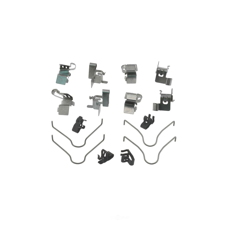 CARLSON QUALITY BRAKE PARTS - Disc Brake Hardware Kit (Front) - CRL 13250