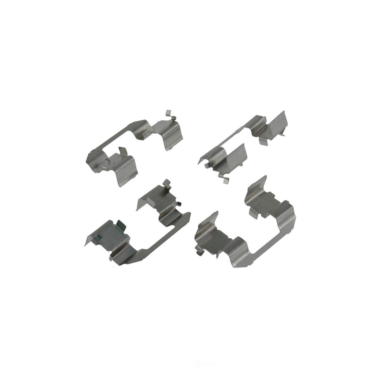 CARLSON QUALITY BRAKE PARTS - Disc Brake Hardware Kit (Front) - CRL 13259