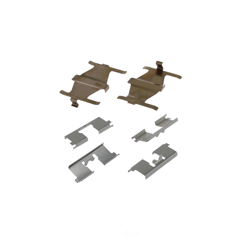 CARLSON QUALITY BRAKE PARTS - Disc Brake Hardware Kit (Rear) - CRL 13270