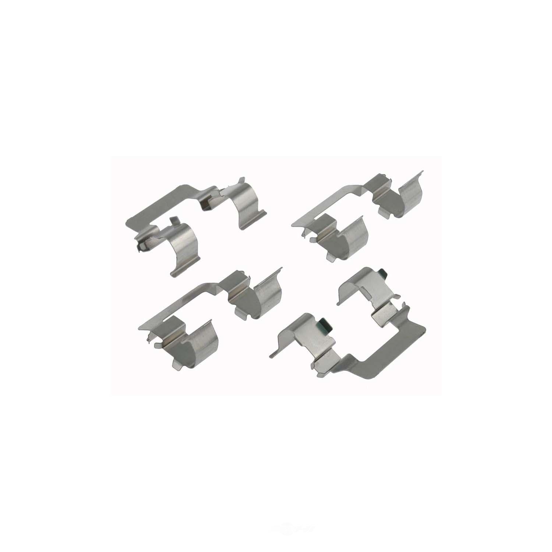 CARLSON QUALITY BRAKE PARTS - Disc Brake Hardware Kit (Front) - CRL 13281