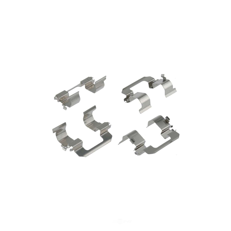 CARLSON QUALITY BRAKE PARTS - Disc Brake Hardware Kit (Rear) - CRL 13301