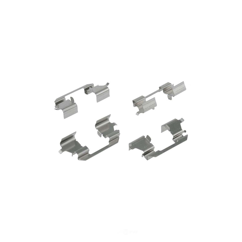 CARLSON QUALITY BRAKE PARTS - Disc Brake Hardware Kit - CRL 13307