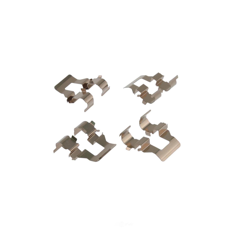 CARLSON QUALITY BRAKE PARTS - Disc Brake Hardware Kit (Rear) - CRL 13313