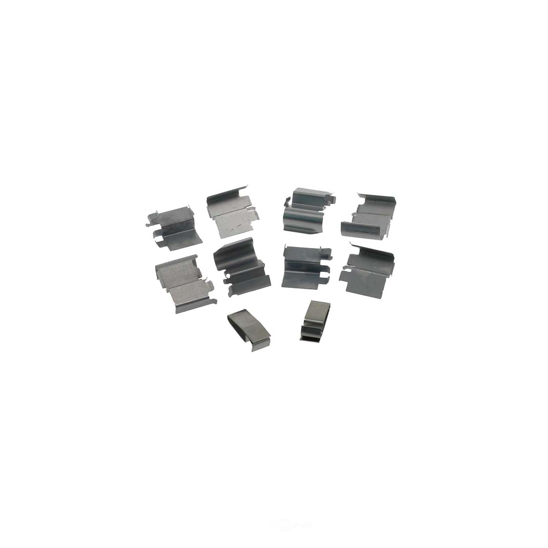 CARLSON QUALITY BRAKE PARTS - Disc Brake Hardware Kit (Front) - CRL 13342