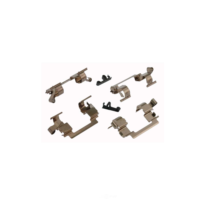 CARLSON QUALITY BRAKE PARTS - Disc Brake Hardware Kit (Front) - CRL 13350