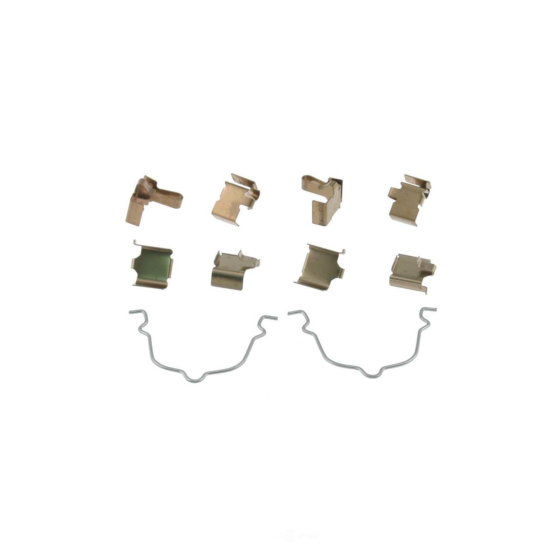 CARLSON QUALITY BRAKE PARTS - Disc Brake Hardware Kit (Rear) - CRL 13351