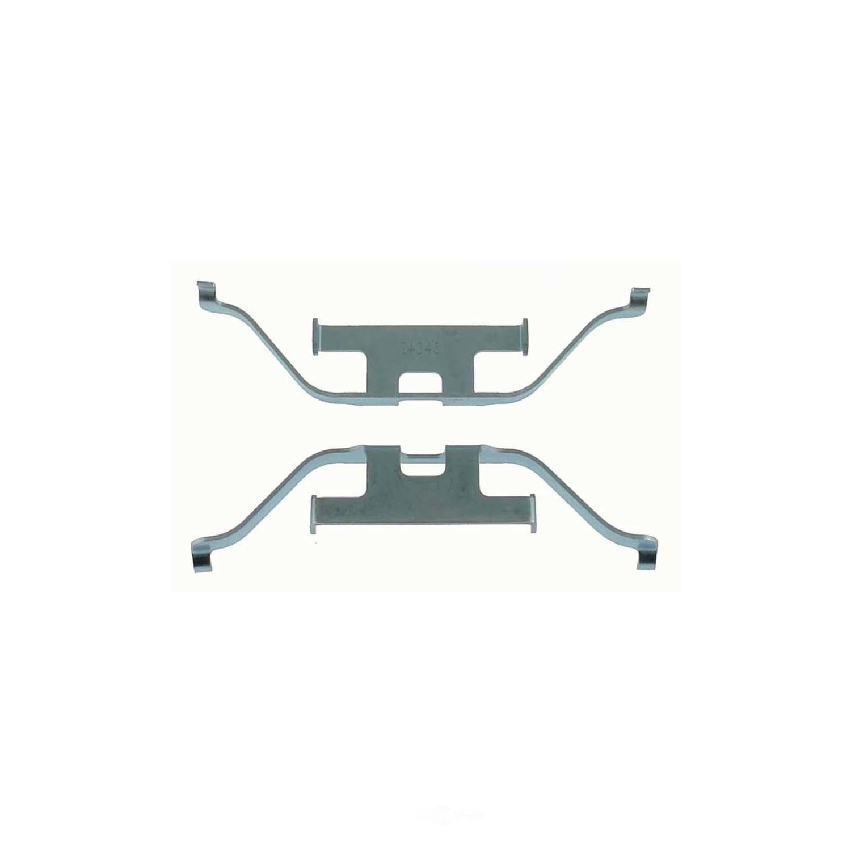 CARLSON QUALITY BRAKE PARTS - Disc Brake Hardware Kit (Rear) - CRL 13394