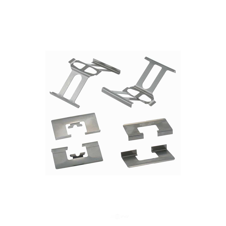 CARLSON QUALITY BRAKE PARTS - Disc Brake Hardware Kit (Rear) - CRL 13409