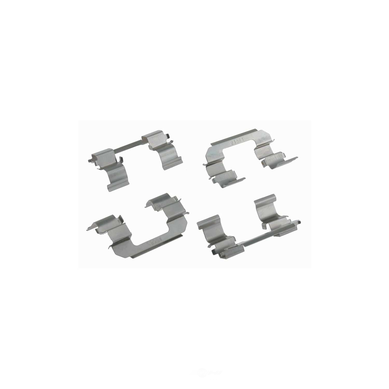 CARLSON QUALITY BRAKE PARTS - Disc Brake Hardware Kit (Front) - CRL 13415
