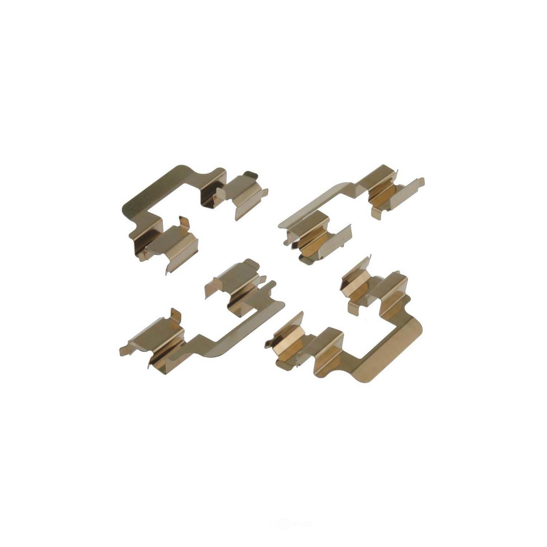 CARLSON QUALITY BRAKE PARTS - Disc Brake Hardware Kit (Rear) - CRL 13471