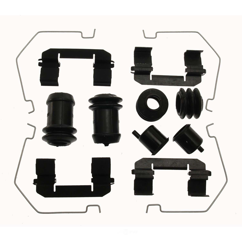 CARLSON QUALITY BRAKE PARTS - Disc Brake Hardware Kit (Front) - CRL 13473Q