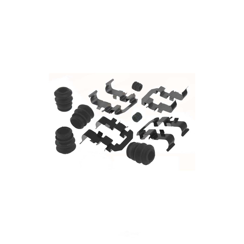 CARLSON QUALITY BRAKE PARTS - Disc Brake Hardware Kit (Rear) - CRL 13488Q