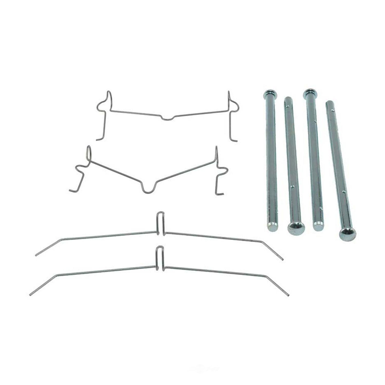 CARLSON QUALITY BRAKE PARTS - Disc Brake Hardware Kit (Front) - CRL 13505