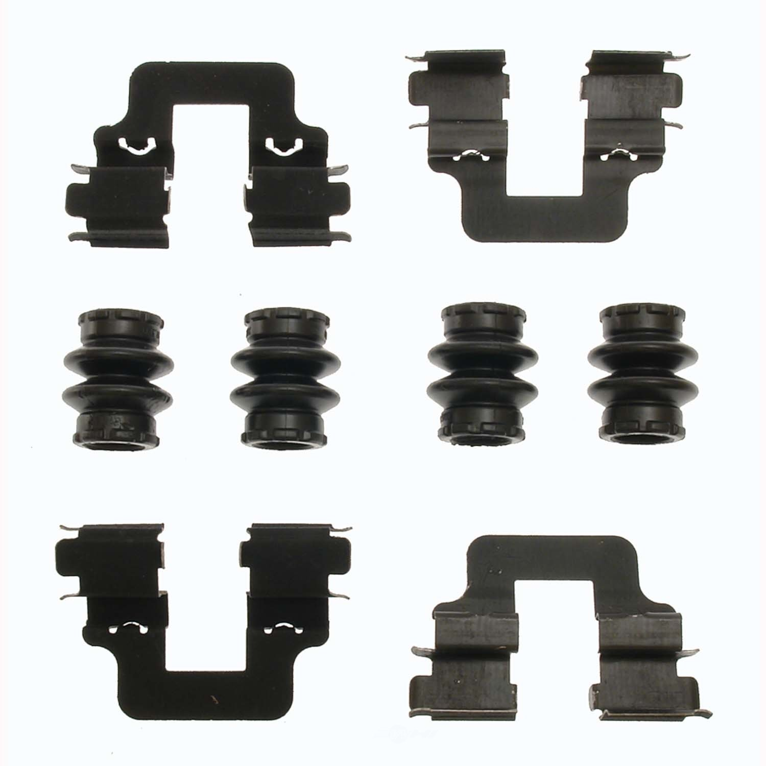 CARLSON QUALITY BRAKE PARTS - Disc Brake Hardware Kit (Rear) - CRL 13511Q