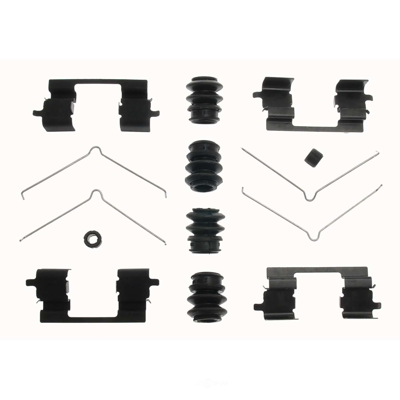 CARLSON QUALITY BRAKE PARTS - Disc Brake Hardware Kit - CRL 13521Q