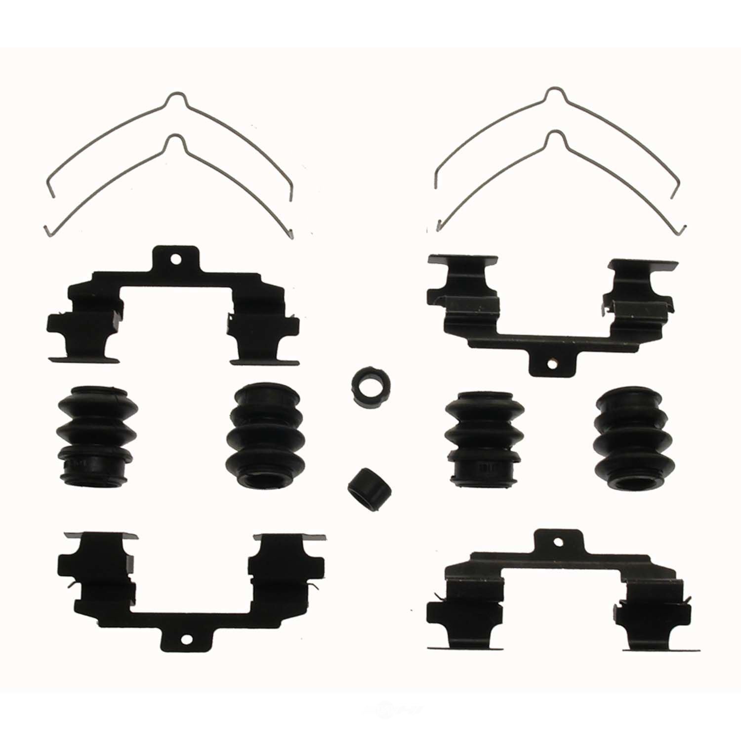 CARLSON QUALITY BRAKE PARTS - Disc Brake Hardware Kit (Front) - CRL 13562Q