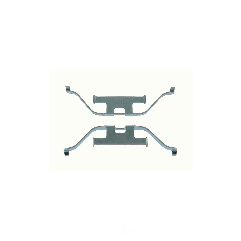 CARLSON QUALITY BRAKE PARTS - Disc Brake Hardware Kit (Rear) - CRL 13572
