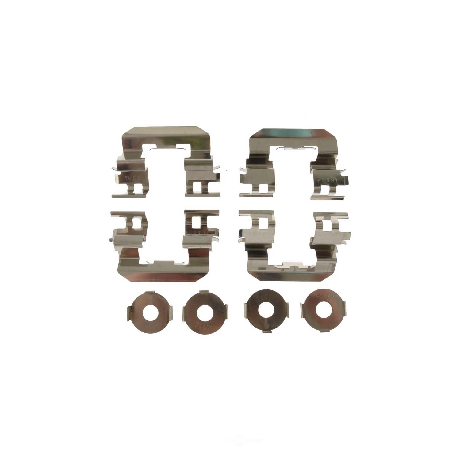 CARLSON QUALITY BRAKE PARTS - Disc Brake Hardware Kit - CRL 13599