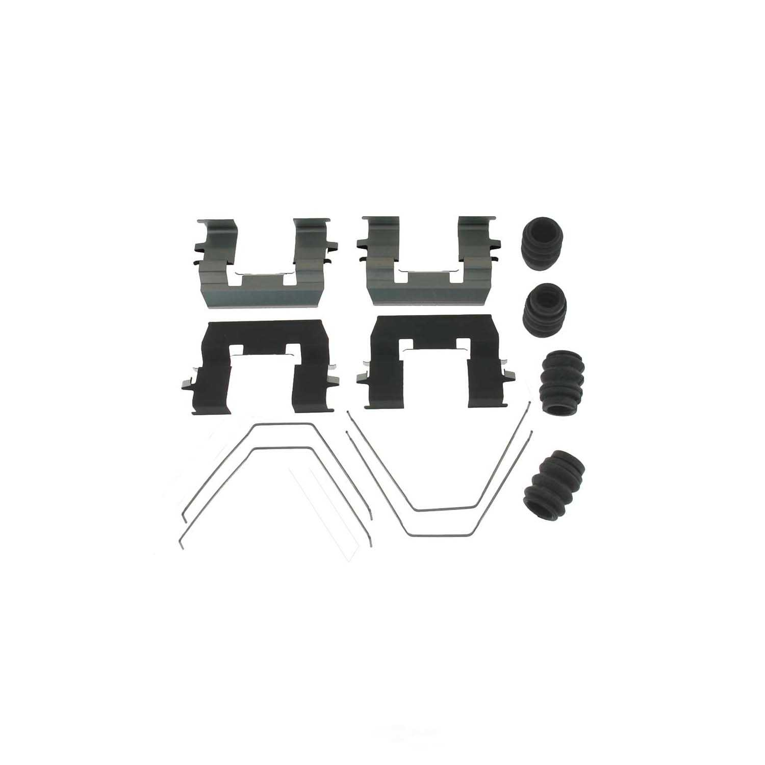 CARLSON QUALITY BRAKE PARTS - Disc Brake Hardware Kit - CRL 13602Q