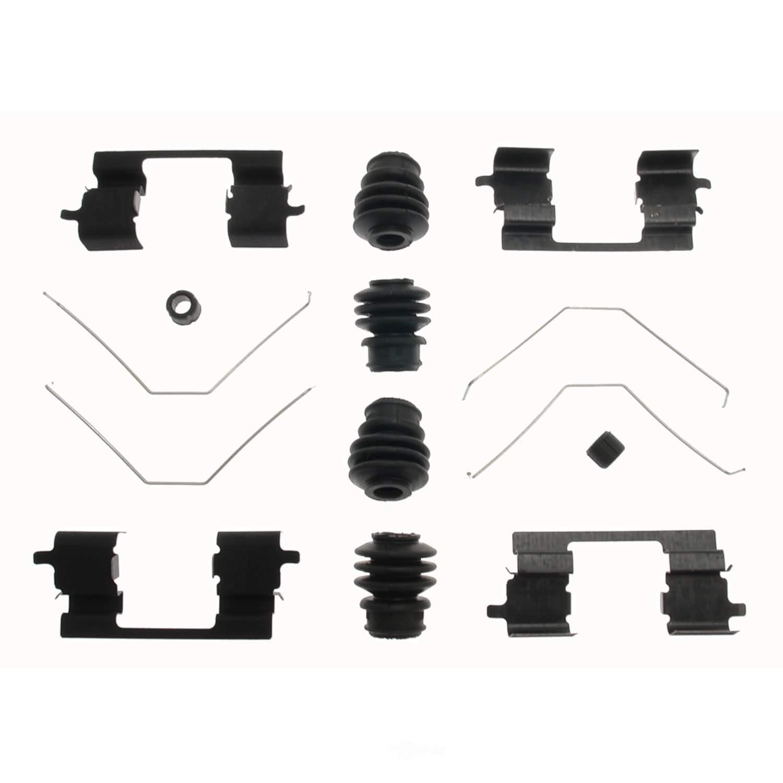 CARLSON QUALITY BRAKE PARTS - Disc Brake Hardware Kit - CRL 13606Q