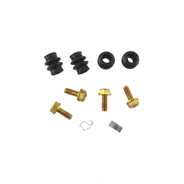 CARLSON QUALITY BRAKE PARTS - Disc Brake Hardware Kit (Rear) - CRL 13613