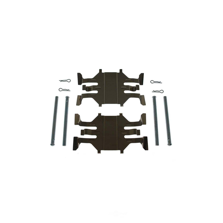 CARLSON QUALITY BRAKE PARTS - Disc Brake Hardware Kit (Front) - CRL 13619