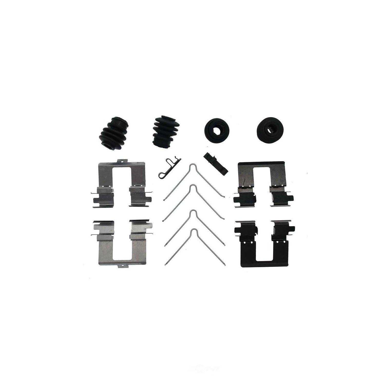 CARLSON QUALITY BRAKE PARTS - Disc Brake Hardware Kit - CRL 13630Q