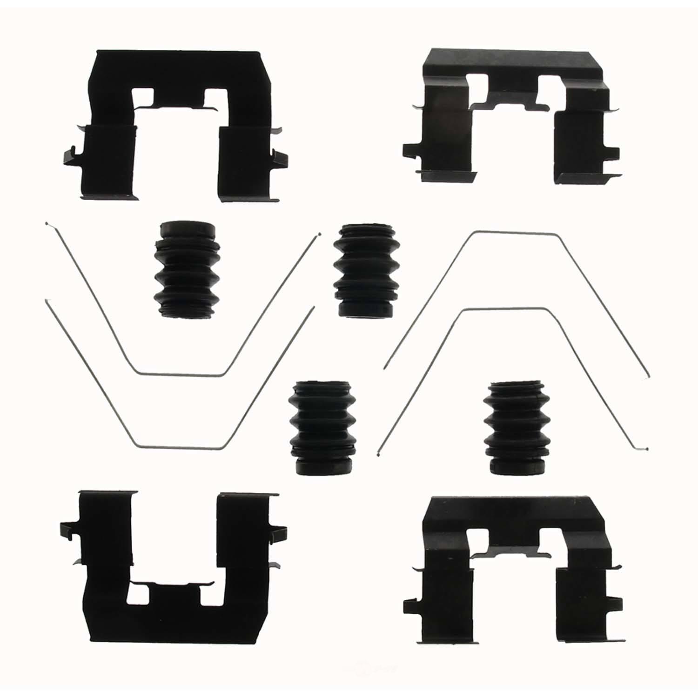 CARLSON QUALITY BRAKE PARTS - Disc Brake Hardware Kit - CRL 13640Q