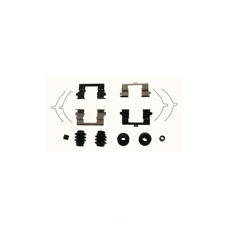 CARLSON QUALITY BRAKE PARTS - Disc Brake Hardware Kit - CRL 13666Q