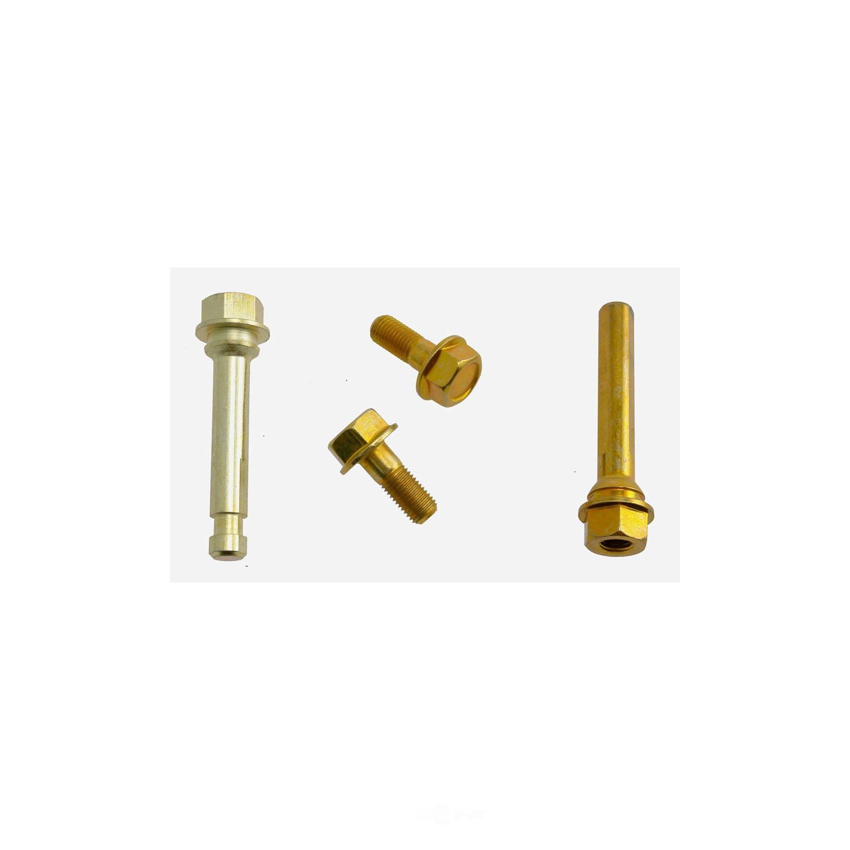 CARLSON QUALITY BRAKE PARTS - Disc Brake Caliper Guide Pin Kit (Rear) - CRL 14254