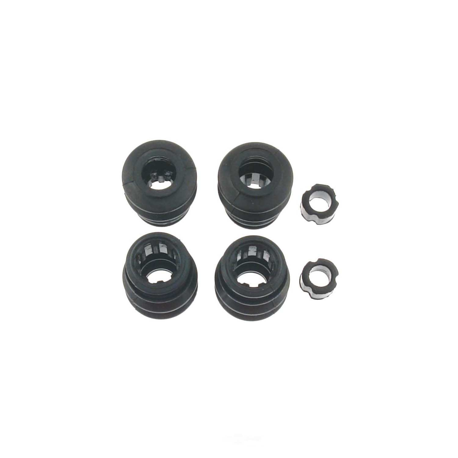 CARLSON QUALITY BRAKE PARTS - Disc Brake Caliper Guide Pin Boot Kit (Front) - CRL 16080