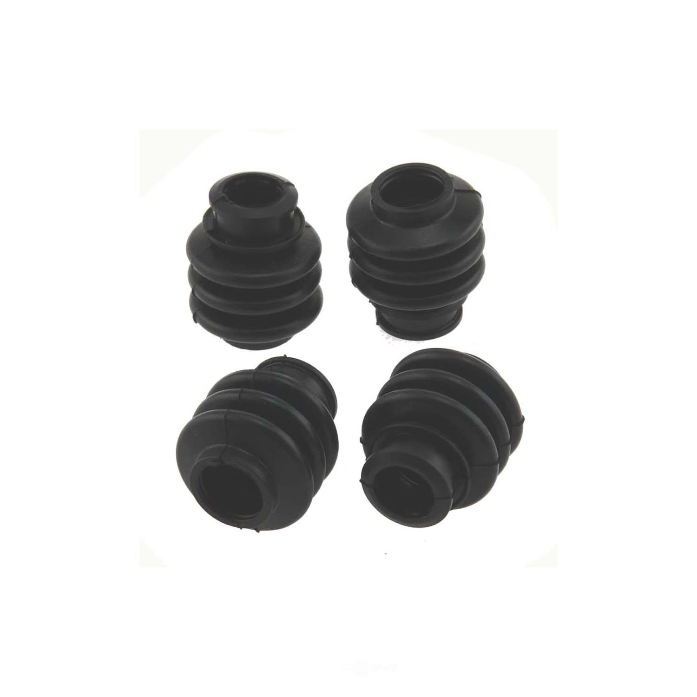 CARLSON QUALITY BRAKE PARTS - Disc Brake Caliper Guide Pin Boot Kit (Front) - CRL 16124