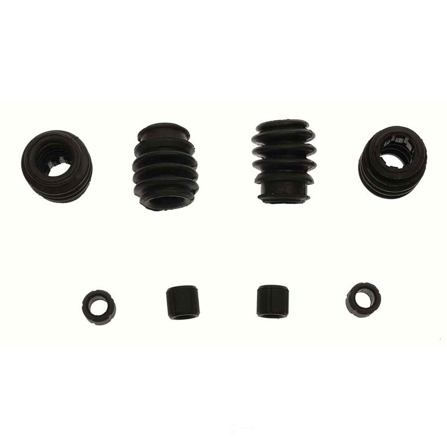 CARLSON QUALITY BRAKE PARTS - Disc Brake Caliper Guide Pin Boot Kit (Front) - CRL 16217