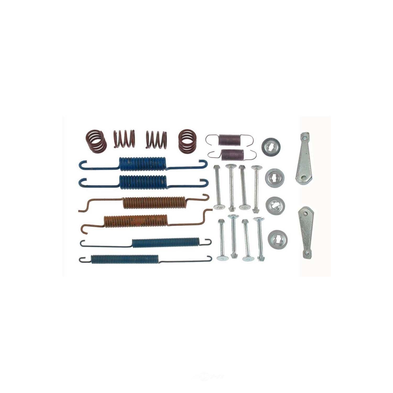 CARLSON QUALITY BRAKE PARTS - Drum Brake Hardware Kit (Rear) - CRL 17241