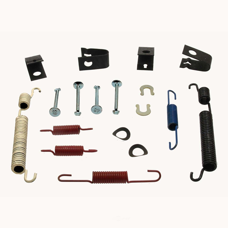 CARLSON QUALITY BRAKE PARTS - Drum Brake Hardware Kit (Rear) - CRL 17279