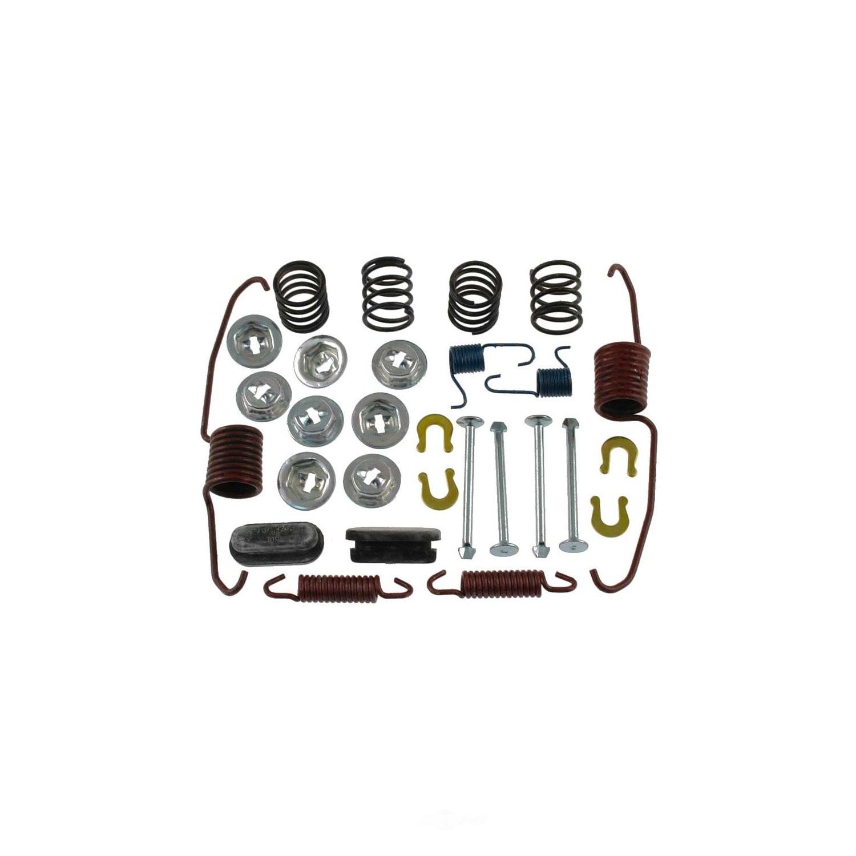 CARLSON QUALITY BRAKE PARTS - Drum Brake Hardware Kit (Rear) - CRL 17282
