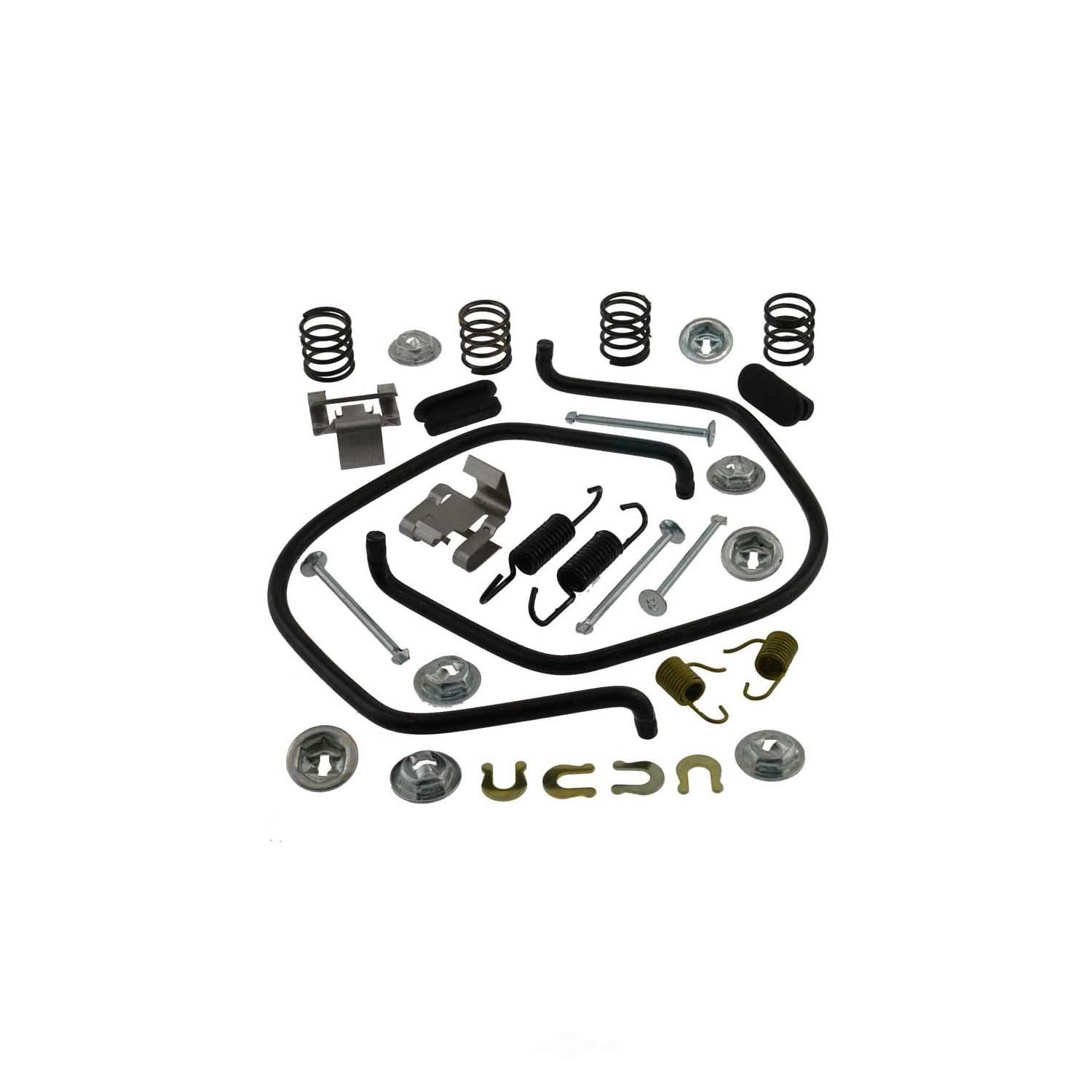 CARLSON QUALITY BRAKE PARTS - Drum Brake Hardware Kit (Rear) - CRL 17286