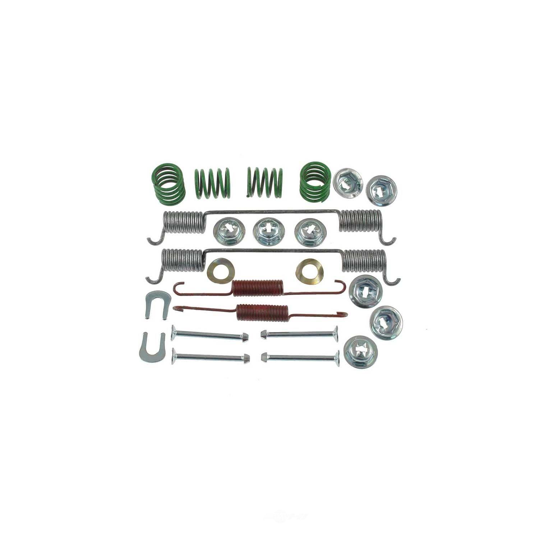 CARLSON QUALITY BRAKE PARTS - Drum Brake Hardware Kit (Rear) - CRL 17290