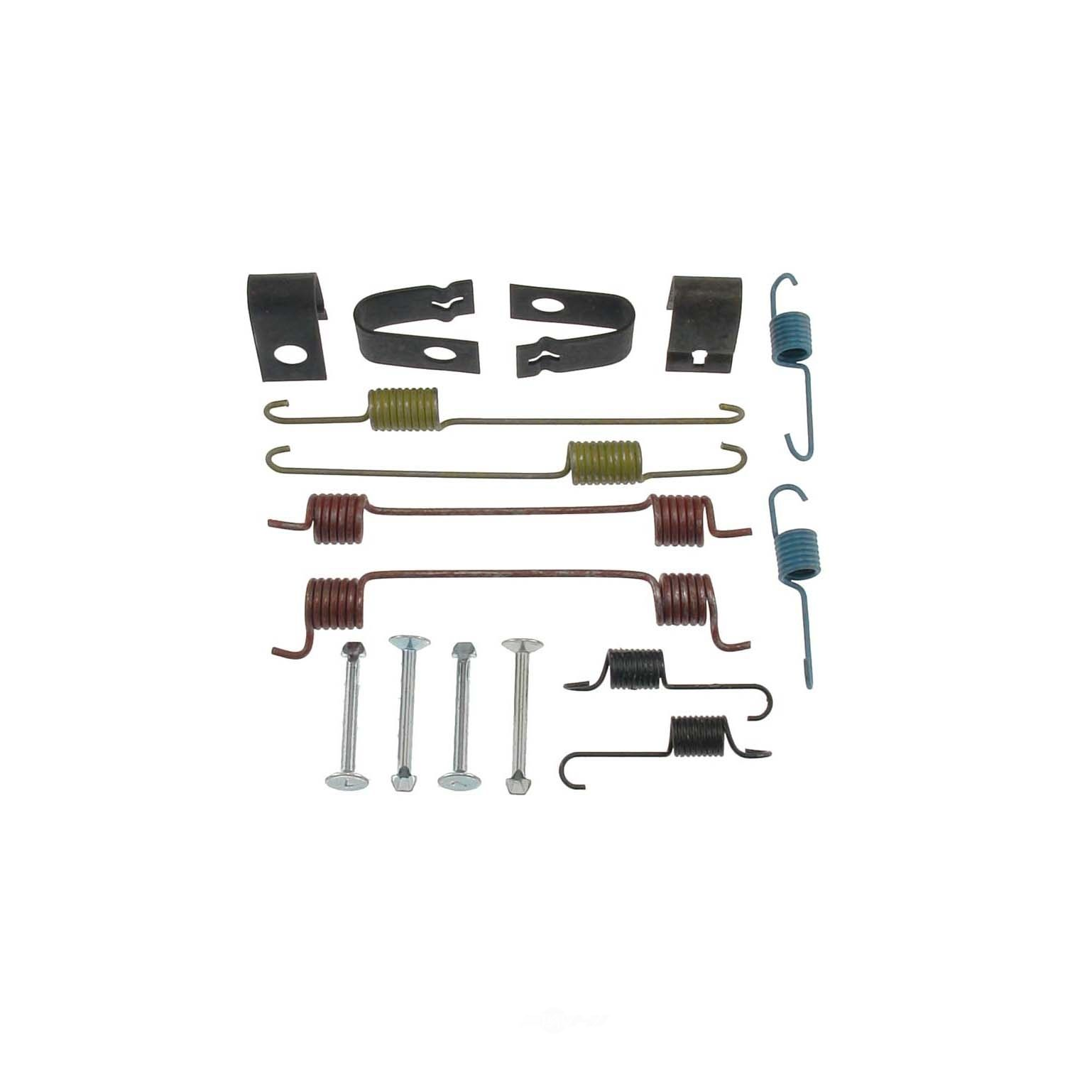 CARLSON QUALITY BRAKE PARTS - Drum Brake Hardware Kit (Rear) - CRL 17305
