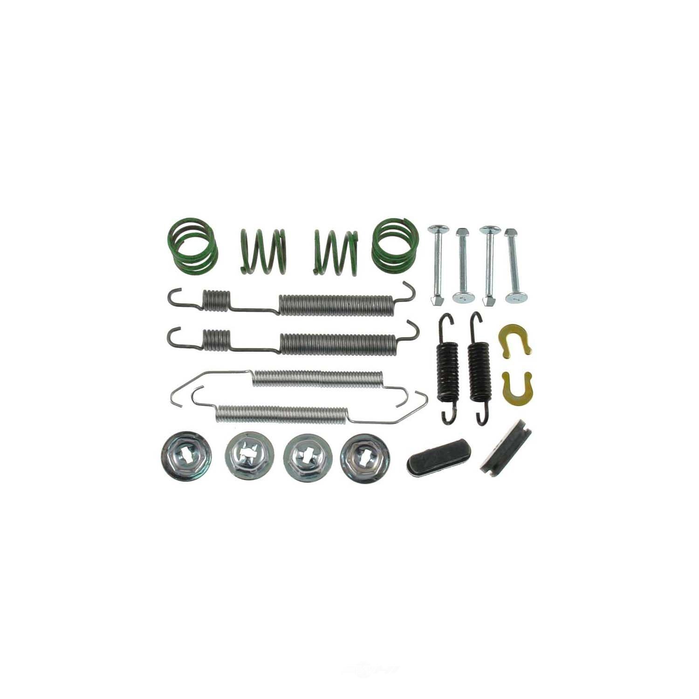 CARLSON QUALITY BRAKE PARTS - Drum Brake Hardware Kit (Rear) - CRL 17319