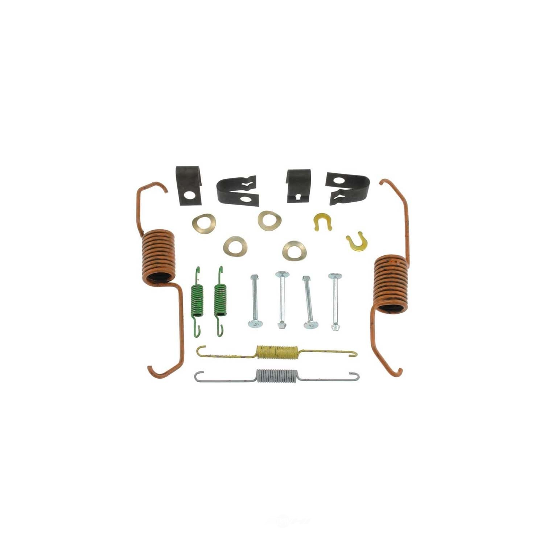 CARLSON QUALITY BRAKE PARTS - Drum Brake Hardware Kit (Rear) - CRL 17321