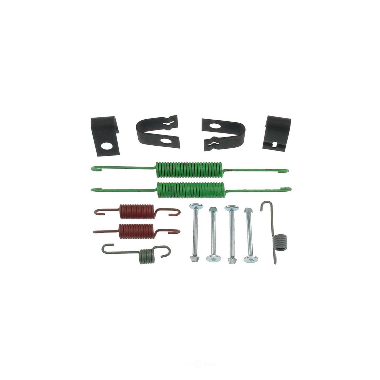 CARLSON QUALITY BRAKE PARTS - Drum Brake Hardware Kit (Rear) - CRL 17325